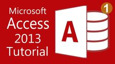 Microsoft Access 2013 - Tutorial for Beginners (1) Computer Jobs, Computer Programming, Microsoft Excel, Microsoft Office, Office Training, Database Design, Office Programs, Job Search Tips, Read Later