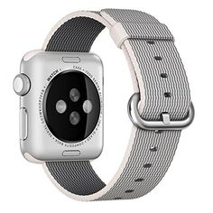 For Apple Watch Band Lucoo Fashion Sports Nylon Bracelet Strap Band For Apple Watch Series 12 38MM White -- More info could be found at the image url. (This is an affiliate link) #SmartWatchAccessories