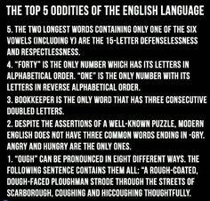 Language facts.