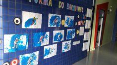 Mural olimpíadas tiro esportivo