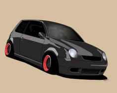 volkswagen deviantart | VW Lupo Toon by ~Knowleso on deviantART