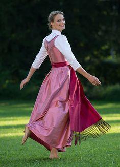 Dirndl by Gössl, Austria. Silk- just beautiful