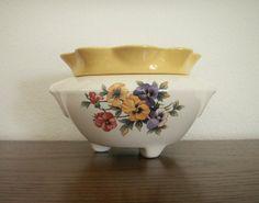 Ceramic African Violet Pot/Large by VandeCraftCeramics on Etsy, $14.00