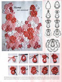 Irish Crochet Elements