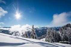 Rein in den Schnee und die kühle Luft einatmen. #thatspositivenergy #energizer