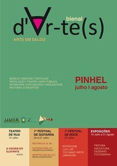Bienal | d'Ar-te(s) 2013 | 12 de Julho a 31 de Agosto | Pinhel