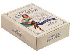 mary portas. kinky knickers. packaging