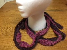 Pink/purple belt can be found at my Etsy shop @Lunagaiaknits