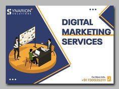 Grow your business in a smart way with our digital marketing services and bring your business into the digital world.