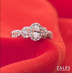 Zales believes that everyone deserves a #RoyalWedding and the perfect ring. Discover more three-stone rings similar to this style.