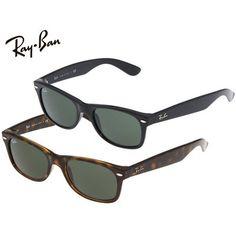 Ray-Ban Wayfarer Sunglasses -Black or Tortoise