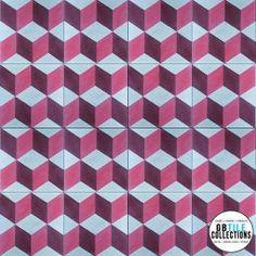 Encaustic Cement Tile - Geo 2