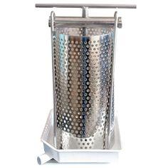 Tabletop fruit press, 1.25 gallon: Quality, value & service at Pleasant Hill Grain.
