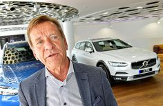 Volvo Cars' CEO Hakan Samuelsson speaks during an interview at the Volvo Cars Showroom in Stockholm, Sweden July 5, 2017. TT News Agency/Jonas Ekstromer/via REUTERS ATTENTION EDITORS - THIS IMAGE WAS PROVIDED BY A THIRD PARTY. SWEDEN OUT. NO COMMERCIAL OR EDITORIAL SALES IN SWEDEN ORG XMIT: SWE03