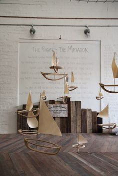 Elise Cameron-Smith's The Pirate & The Matador workshop/exhibition at Society Inc looked stunning!