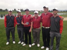 North Idaho College, Coeur d' Alene golf team 2013-2014. Tanner Martin