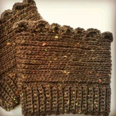 These boot cuffs were designed to take on whatever added designthe heart desires. Skill Level: Advanced Beginner Materials: ~...