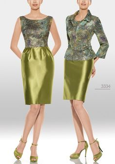 Vestido de madrina de Teresa Ripoll modelo 3334 by Teresa Ripoll Beautiful Dresses, Nice Dresses, Casual Dresses, Fashion Dresses, Maxi Outfits, Mode Chic, Mom Dress, Estilo Fashion, Evening Outfits