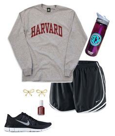 Lazy day outfit by emily-whales on Polyvore featuring NIKE, Tiffany & Co. and Essie