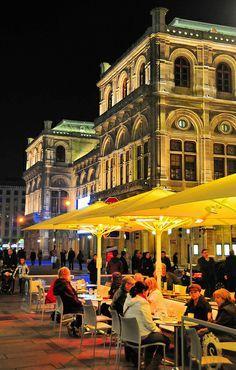 Ein Abend vor der Staatsoper - Wien...