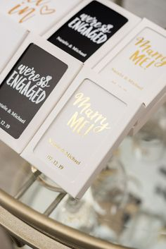 Personalized Wedding Playing Card Favors