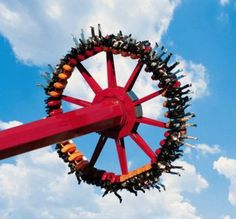 Looks like a cool ride. Terra Mitica is an amusement park in Benidorm (Alicante province, Spain).