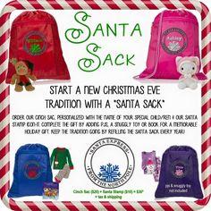 Santa Sacks!! www.mythirtyone.com/kalbers