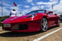 Ferrari club vehicle visiting Pinnacle. #ferrariclub #lifestyle