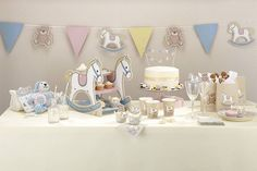 rock a bye baby party paper napkins by ginger ray | notonthehighstreet.com
