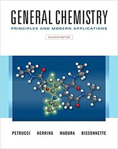 Solutions Manual for General Chemistry Principles and Modern Applications Loose Leaf Version edition by Petrucci Herring Madura and Bissonnette - Solutions Manual and Test Bank for textbooks Chemistry Textbook, Teaching Chemistry, Study Cards, Sell Your Books, Application Download, Chemistry Experiments, Science, Visual Learning, Chemistry