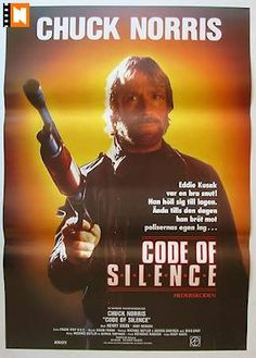 Code of silence. Best Movie Posters, Movie Poster Art, Best Action Movies, Good Movies, Chuck Norris Movies, Cassette Vhs, Film D'action, Martial Artist, Blade Runner