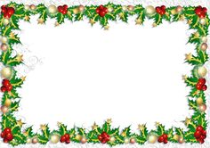 Transparent PNG Christmas Photo Frame