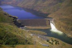 Brownlee Dam, ID | Snake River Dams