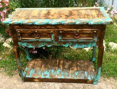 Superior Ombre Sofa Table. Southwestern DecoratingRustic FurnitureSofa ...