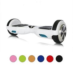 Mini Smart Electric Self Balancing Scooter Hover Board Unicycle 2 Wheel With LED Lights