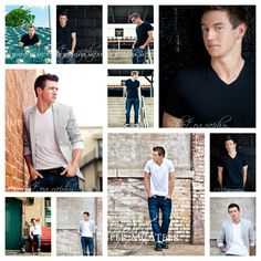 Some pretty cool guy poses for High School portraits