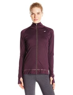 ASICS Women's Full Zip Jacket >>> Learn more by visiting the image link.