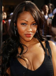 Meagan Good long wavy hairstyle for black women Continue reading by clicking the image or link, or why not visit us in person at our salon for more great inspirational hair ideas. Cool Short Hairstyles, Black Women Hairstyles, Formal Hairstyles, Wedding Hairstyles, Megan Good, Curly Wedding Hair, Curly Hair, Long Wavy Hair, Long Locks
