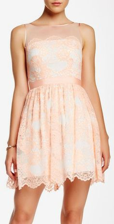Aidan Mattox | Sleeveless Lace Party Dress | Sponsored by Nordstrom Rack