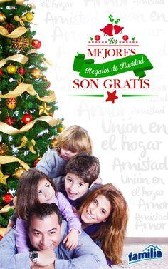 ¡Disfruta de momentos inolvidables con tu familia y aquellos a quienes más quieres, porque llegó la navidad llena de felicidad!