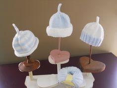 Trio of Baby Hats