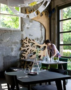 """Proef - Amsterdam...the """"tree"""" on the wall! ♥"""