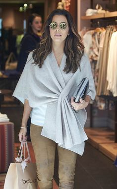 Eva Longoria from The Big Picture: Today's Hot Pics  The actress enjoys her afternoon shopping in Madrid, Spain.