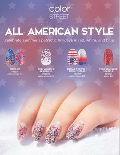 978 best color street 100 real nail polish strips images