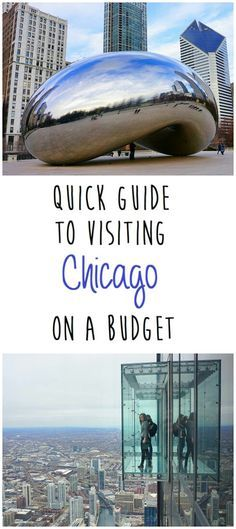Quick Guide to Visiting Chicago On A Budget. Great for first-time visitors!### Looks amazing