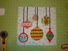 SewCraftyJess: Hanging Ornaments: block tutorial