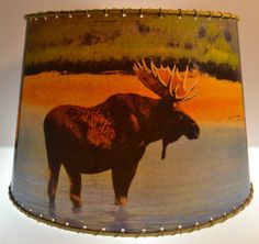 Hey, I found this really awesome Etsy listing at http://www.etsy.com/listing/155912896/rustic-cabin-decor-moose-bear-deer-lamp