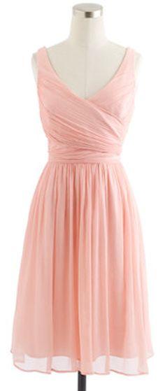 silk chiffon bridesmaid dress  http://rstyle.me/~1l4g6