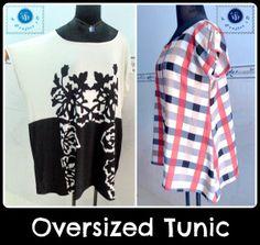 oversized tunic free sewing pattern