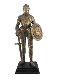 Medieval Knight In Armor Statue Figure Armour